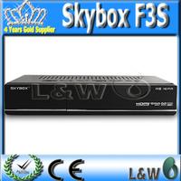 10 pieces Skybox F3-S HD Set Top box Mini HD tv  receiver Fedex Free Shipping