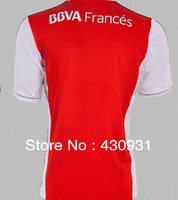 River Plate soccer jerseys 13 14 red white thailand version jerseys free shipping top quality football jerseys