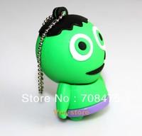 Cute Cartoon Figure Memory Flash Drive 1GB 2GB 4GB 8GB 16GB 32GB True Capacity