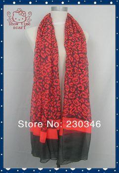 2014 Spring New Women Scarf Fashion Style Free Shipping Worldwide Leopard Shawl/Wrap