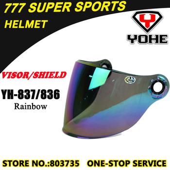 Yohe YH836&YH837 Motorcycle Helmet Visor Lens Silver Coating,Clear,Smoke Anti-Scratched Helmet Visors&Shields Accessories