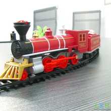 Children Electric big railroad car train to