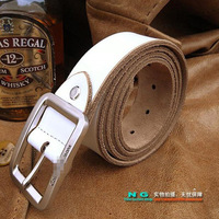 Celebrity fashionable men and women the same paragraph pin buckle leather belt men belt leather belt high quality luxury leather