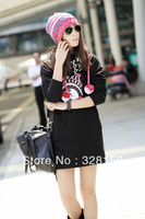 2013 New fashion spring autumn Plus size Women Hoodie Outerwear Freeshipping