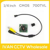 1/4 Inch CMOS 700TVL BF3005+FH8510 Board Camera 0.01LUX IR-CUT SR-700TVL-PC/NC Promotion