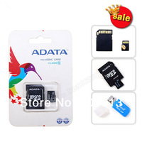 2014 wholesale Gift adapter+carton box 128MB 8GB 16GB 32GB 64GB USB 2.0 Micro SD TF card Flash Memory Mobile Series SDHC SD card