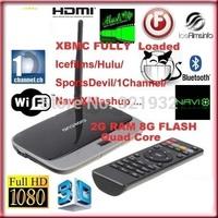 1pc Original Q7 CS 918 MK888 K-R42 Android 4.2 Quad Core RK3188 TV Box XBMC Mini PC Bluetooth 2GB Ram 8GB Rom Free Remote HDMI