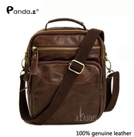 Free shipping 2013 fashion leather men's Messenger Bag Retro Shoulder Bag Hot models with designer
