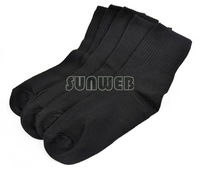 New Men women 3 Colors The Factory Price 10pairs Cotton Blend elastic Sport Socks For Football basketball 17320