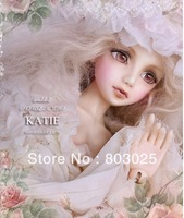 Free Shipping 1/4 43cm  BJD Girl Doll Souldoll Katie,Free Make-up , Promotinal SD Doll Toy, Fashion Collectibles