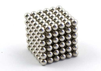 Free shipping new bucky balls magnetic designer toy cube 216pcs nickel color 5mm diameter neocube funny cube neodymiums nomvelty