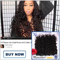 Ms Lula Wet and Wavy Peruvian Virgin Hair 3pcs/4pcs Virgin Peruvian Water Wave Hair Unprocessed Modern Show Natural Wave Hair