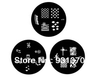 HOT SALES 50PCS M Series 90Styles stainless steel image Plate Nail Art Stamping Plate template