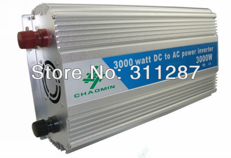 Modified Sine Wave power inverter 3000w peak 6000W DC12V to AC 220V dc ac Power Inverter(China (Mainland))