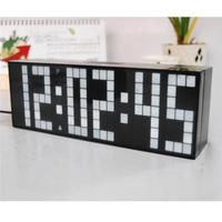 LED Alarm Table Clock countdown Wall timer Desktop Electronic Clocks with Luminous temperature calendar