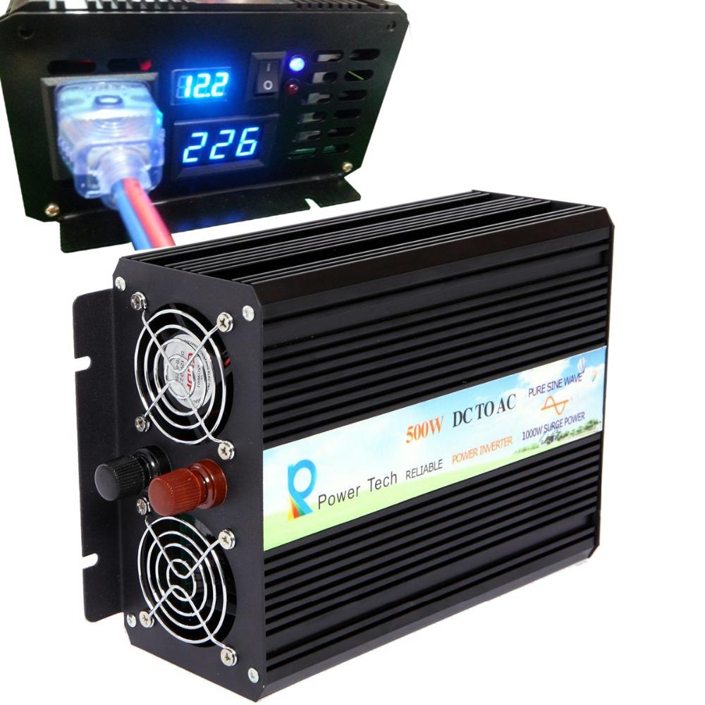 Инверторы и Преобразователи RELIABLE 500W Off , 12v 220v , 1000 RB-500S