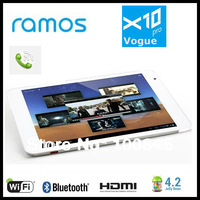 RAMos X10PRO 3G X10 Pro Android 4.2 MTK8389 Quad Core 7.85 inch Tablet PC with built-in 3G, GPS, Bluetooth, 5.0mp camera