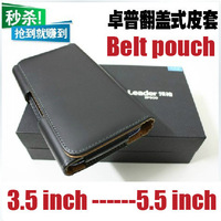 Leather Case Belt Clip Pouch For ZOPO ZP980 C2 C3 ZP900 THL W11 W8 W5 W3 V12 JIAYU G4 G3 G2 G2s G3s Iocean x7 UMI X2 X1s X1