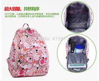 Free shipping Backpack fashion mother bag double-shoulder nappy bag multifunctional liner infanticipate mami bag