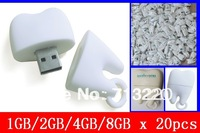 Bulk Wholesale 20pcs/lot X 1gb/2GB/4GB/8GB Tooth Design USB Drive for Dentist Bestgift Dental Surgeon Promotiongift