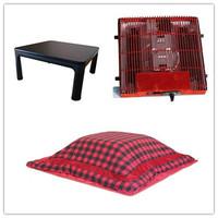 (4pcs/set) Free Shipping Kotatsu Folding  Low Foot Warmer Heated Kotatsu Table Futon Heater Modern Furniture Living Room Sets
