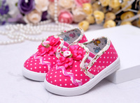 2013 autumn single shoes children's shoes wholesale children 13380 light leather baby shoes toddler grid cloth