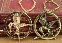 Free Shipping Fashion Classic The Hunger Games Necklaces Pendants Ridicule Birds Necklaces