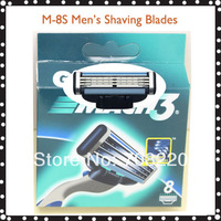 (16pcs/lot)Brand Men's Razor Blades 8pcs/pack Free Shipping