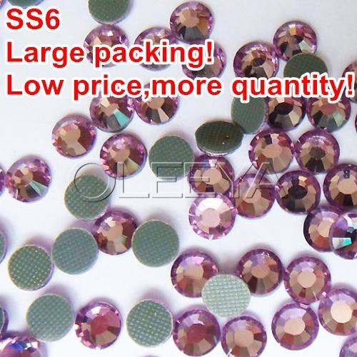 1.9-2mm SS6 Color Light.amethyst Large packing 1000Gross/bag DMC Hot Fix Transfer Rhinestone Hotfix Iron-on Garment Stone Y0355(China (Mainland))