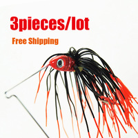 3pcs/lot New arrival.Free shipping. 13.6g Spinner Bait Fishing Hard Crankbait  Fishing Lures/Hooks baits