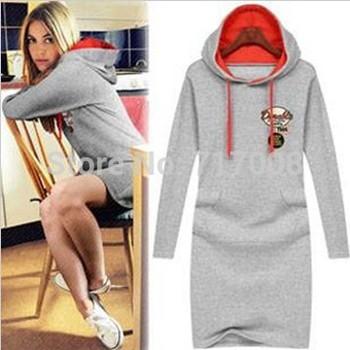 2014 New women's winter autumn fashion  casual dress sweater dress plus size woman clothes vestidos femininos roupas femininas