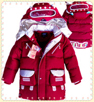 2013 winter jackets for kids winter children cotton clothes duck down coat boy's padded coat outwear 2013 SCB-8001