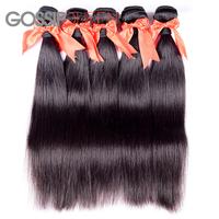 "5A grade Mongolian virgin hair straight hair weave 8""-30""  mongolian hair extension 4 pcs free shipping 100%human hair weave"