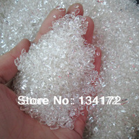 Hotsale white real natural crystal leftovers,jewelry off-cuts/waste/degaussing&absorbed radiation/protect human health&peace