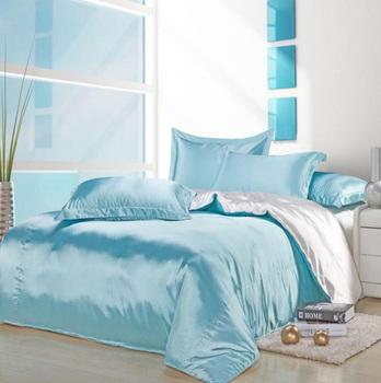 Free Shipping  satin silk textile cotton quilt cotton marriage celebration 4pcs bedding set denim bedding deals