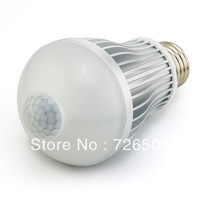 made in china Munti-functions Sensor bulb lamp AC86-264V 6W 9W  E26, E27, B22 screwed LED bulbs