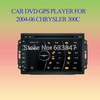 8'' Car DVD Player for 2004-2006 Chrysler 300C/JEEP Grand Cherokee/ Aspen/ Commander GPS Radio Bluetooth TV,3G,free shipping.