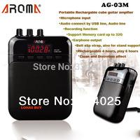 2 PC/ 5% discount Mini Electric Guitar Amp Amplifier 5V 3W portable guitarra amplificador Audio MP3 player speaker recorder