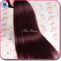 Malaysian virgin hair straight human hair 99j color 3 pcs free shipping Malaysian straight virgin hair cheap malaysian hair