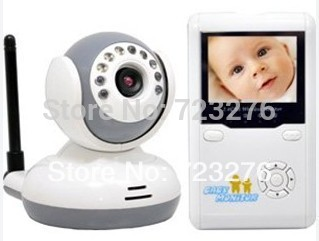New 2.4 Inch TFT Baby monitors Wireless Digital Video Nightvision Baby Camera Family Nanny best Free the Children Video monitor(China (Mainland))