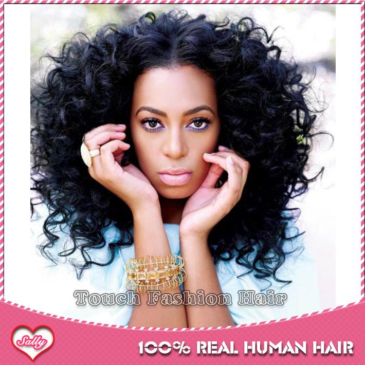 Black Woman Human Hair Wig 101