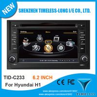 Timeless-long A8 Chipset 3G WiFi 3-ZONE 20 Disc Playing Car DVD Audio Player For Hyundai H1 With GPS Radio BT IPOD TV Free Map