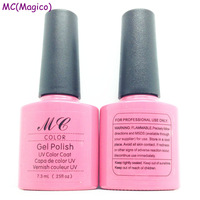 Soak off glitter uv nail gel polish +top coat+ base coat with high gloss +no odour free shipping nail gel