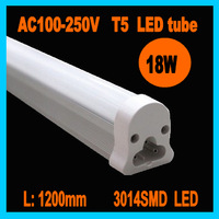 Free shipping 10pcs/lot 20W LED Tube T5 1200mm/4ft SMD2835, AC85-265V,High Brightness aluminum alloy tube