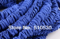 Free Shipping retail Latex 100FT Expandable Hose for Garden water hose with Spary gun For Water Flowers Vehicle cleaning Blue