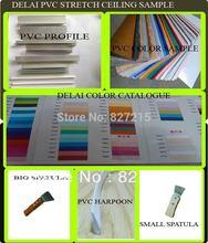 DELAI Sample of PVC Stretch Ceiling Film(China (Mainland))