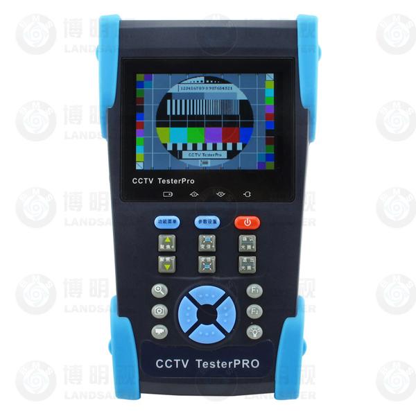 3.5'' lcd probador de cctv ip& analógica de la cámara de pruebas de cable utp de prueba de poe de prueba ping prueba de fotografía y grabación de vídeo de control de ptz l-t2601