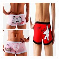 New Print Novelty Funny Character Cartoon Underwear,US Standard Size(S/M/L/XL)
