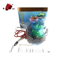 Gyroscope LED Wrist Exercise Massage Power Ball Great For Gift Golf Tennis Baseball Gyro Green Wholesale New Hot Sales