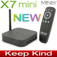 Free shipping Original MINIX NEO X7 mini Quad Core Coretex A9 Android 4.2 TV BOX Google smart tv box 2GB/8GB WIFI RJ45